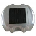 Lot de 2 spots solaires pavés de sol réfléchissants ip 68 6 leds blanc fixe zs-gd04 2