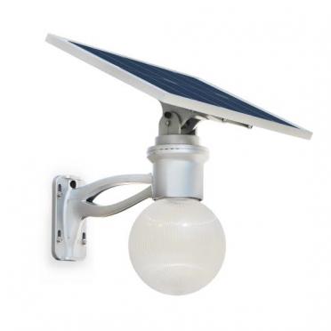 Lampadaire solaire puissant boule zs-r12 4w multi modes