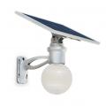 Lampadaire solaire puissant boule zs-r12 4w multi modes 7
