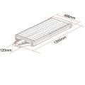 Lampadaire solaire led puissant 4000 lumens zs-sl40 5