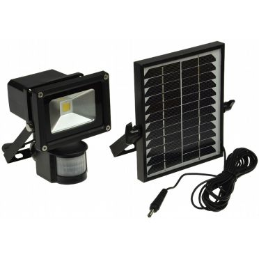 projecteur solaire led 10 w zs 10 d tecteur zs energie solaire. Black Bedroom Furniture Sets. Home Design Ideas