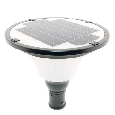 Lampadaire solaire puissant 1000 lumens zsll6