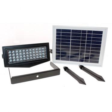 Projecteur solaire puissant rgb spot ip 65 300 lumens zs-ll2