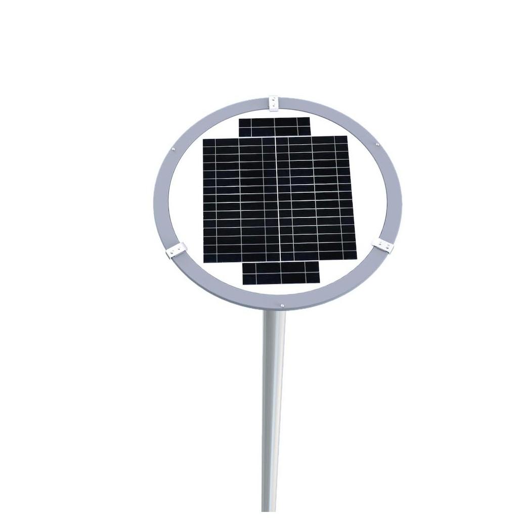 lampadaire solaire t l commande 2000 lumen zs lr12 zs. Black Bedroom Furniture Sets. Home Design Ideas