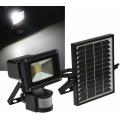 Projecteur solaire puissant 10w led 1000 lumens zs-10 1