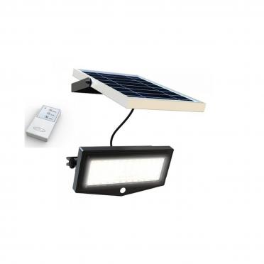 Projecteur solaire puissant ip 65 1000 lumens télécommande zs-ml1-t