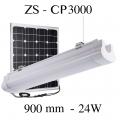 Eclairage solaire puissant de CARPORT ZS-CP3000 0