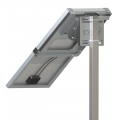 Support de Fixation Signalisation Panneau Solaire U145-150S 1