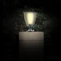 Lampe solaire puissante de poteau 100 lumens julia2 ip 65 7