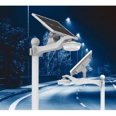 Lampadaire Solaire Télécommande zs-Cécognia 1600