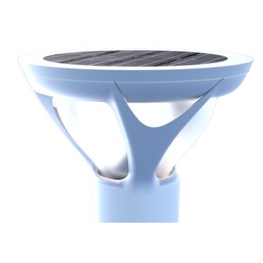 Kit de Fixation Antivol Borne Solaire Multifonction