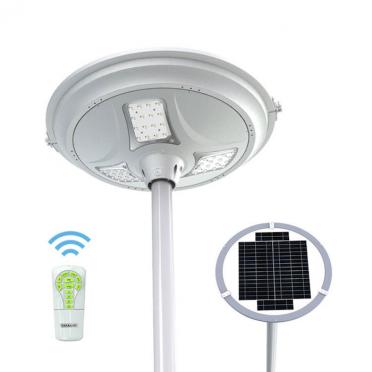 Lampadaire solaire 3000 lumens ZS-SL14-R