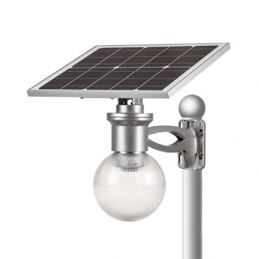 Lampadaire solaire puissant boule zs-r40 12w multi modes
