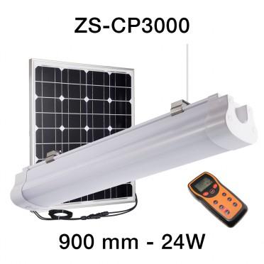 Eclairage solaire puissant de CARPORT ZS-CP3000