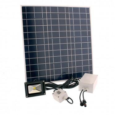 Projecteur solaire puissant 1000 lumens interrupteur zs-310