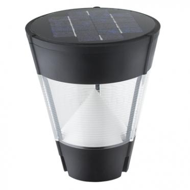 Tête de lampe solaire puissante professionnelle cône