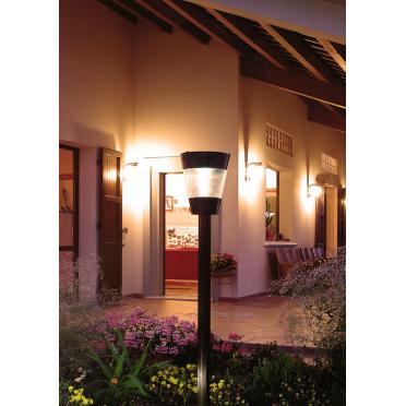 Lampe solaire puissante professionnelle cône 3w 1,80 m