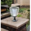 Lampe solaire puissante de poteau 100 lumens julia2 ip 65 5