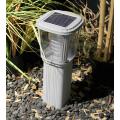 Borne solaire puissante zs-gl03 200 lumens ip 65 blanc chaud 1