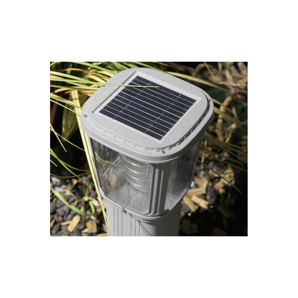 borne solaire puissante zs gl03 200 lumens zs energie. Black Bedroom Furniture Sets. Home Design Ideas