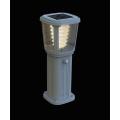 Borne solaire puissante zs-gl03 200 lumens ip 65 blanc chaud 5