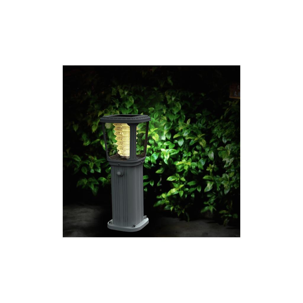 borne solaire puissante zs gl03 200 lumens zs energie solaire. Black Bedroom Furniture Sets. Home Design Ideas