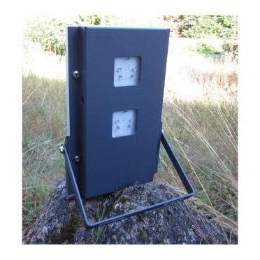 Projecteur solaire puissant 2 leds 120 lumens