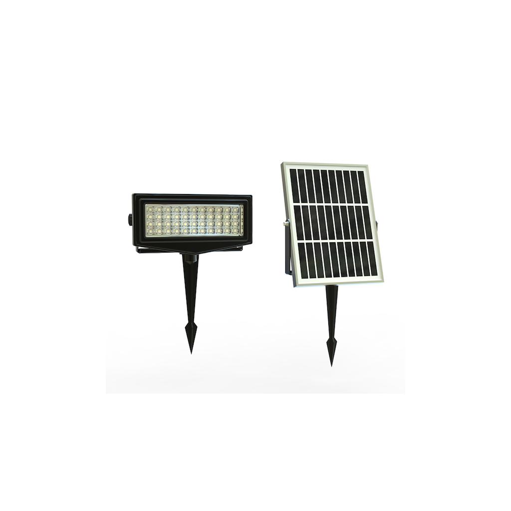 Projecteur spot solaire rgb 300 lumens zs ll2 zs energie for Spot solaire 200 lumens