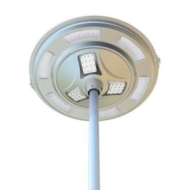 Lampadaire solaire puissant 3000 lumens zs-sl24